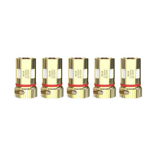 Wismec WV Replacement Coils 0.3ohm Mesh/ 0.8ohm WV01-Vape Cloud UK