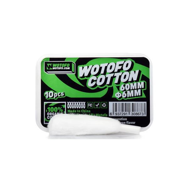 Wotofo - Agleted Organic Cotton-Vape Cloud UK
