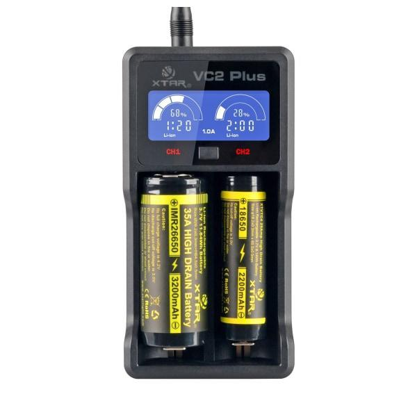 Xtar - VC2 Plus Master Charger-Vape Cloud UK