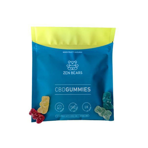 ZenBears 200mg CBD Gummies - 50g-Vape Cloud UK