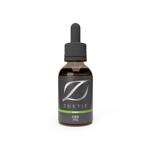 Zoetic 500mg CBD Oil 30ml - Calming Natural-Vape Cloud UK