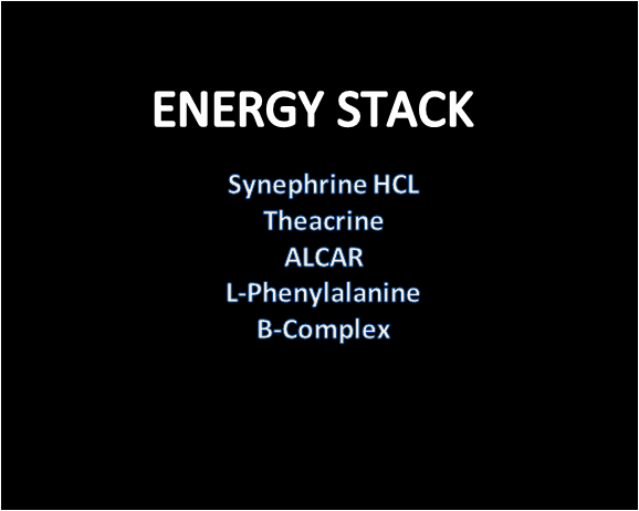 Nootropic stack for Energy