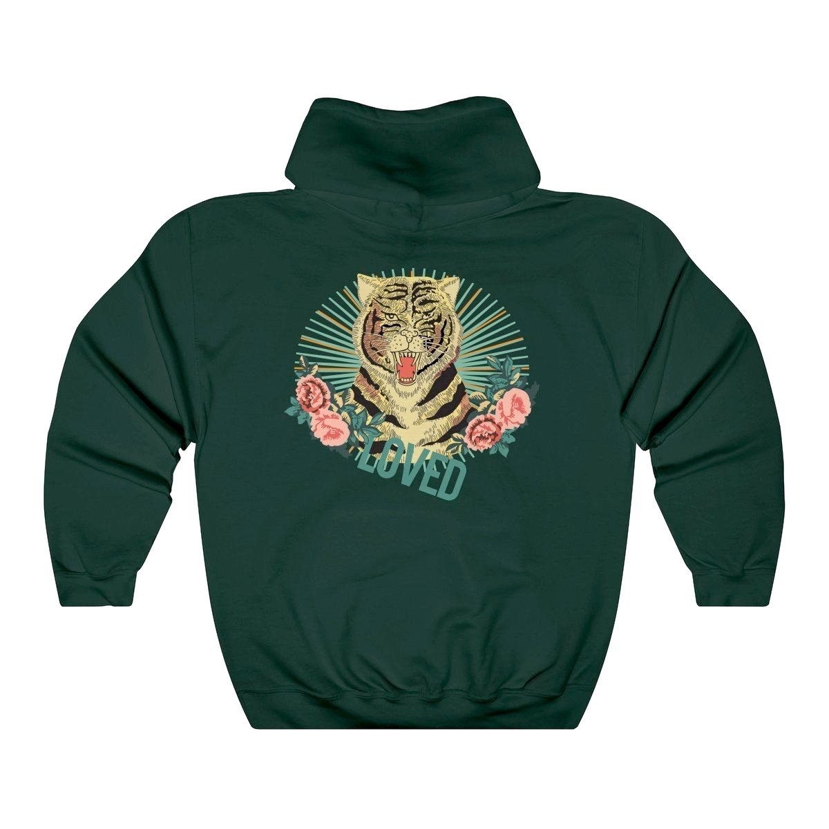 Blind For Love Hoodie - Basil - Modern Appeal