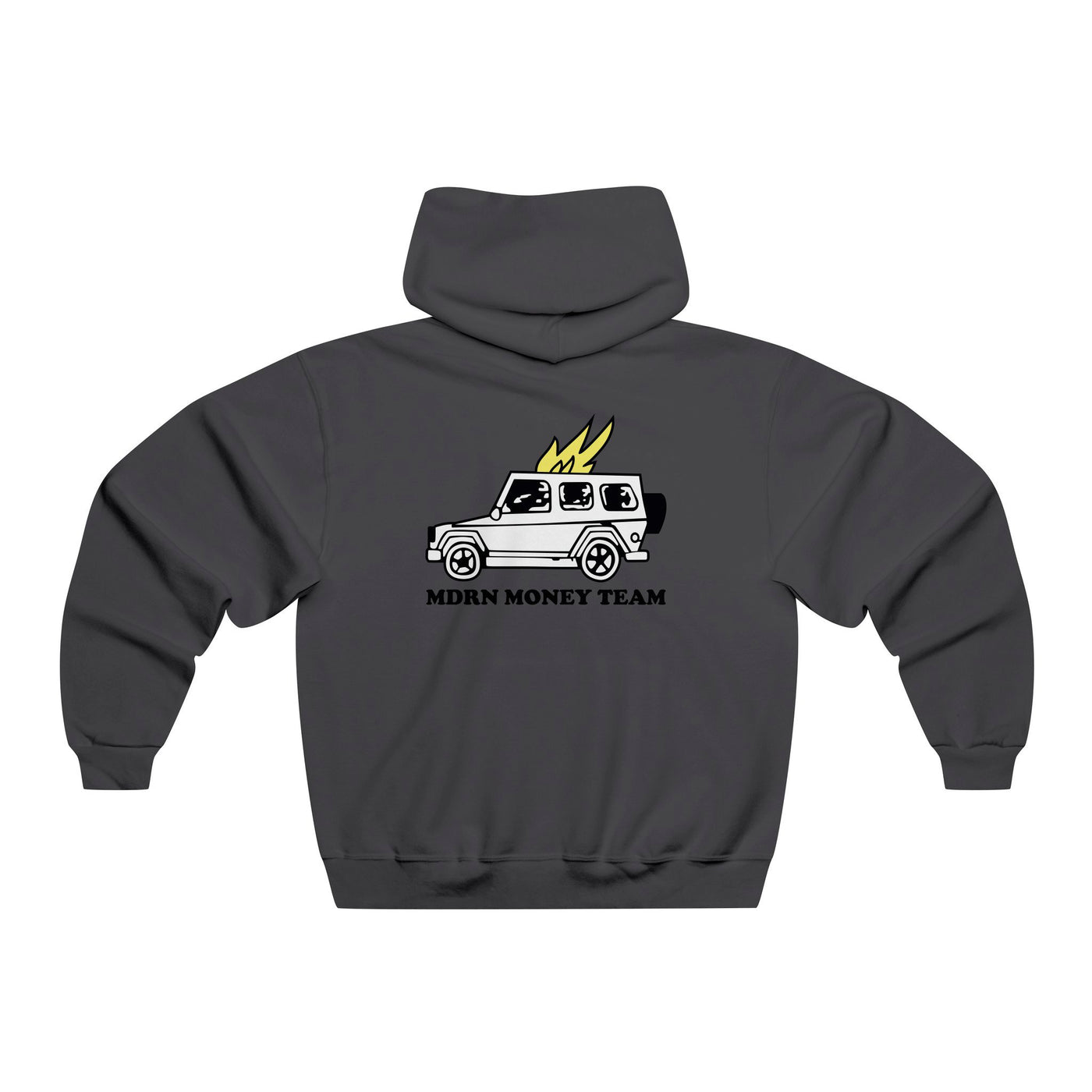 MDRN Money Team Hoodie - Charcoal - Modern Appeal