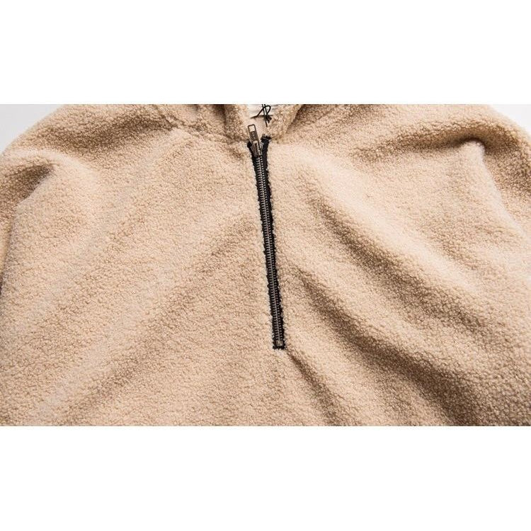Sherpa Hooded Pullover - Modern Appeal