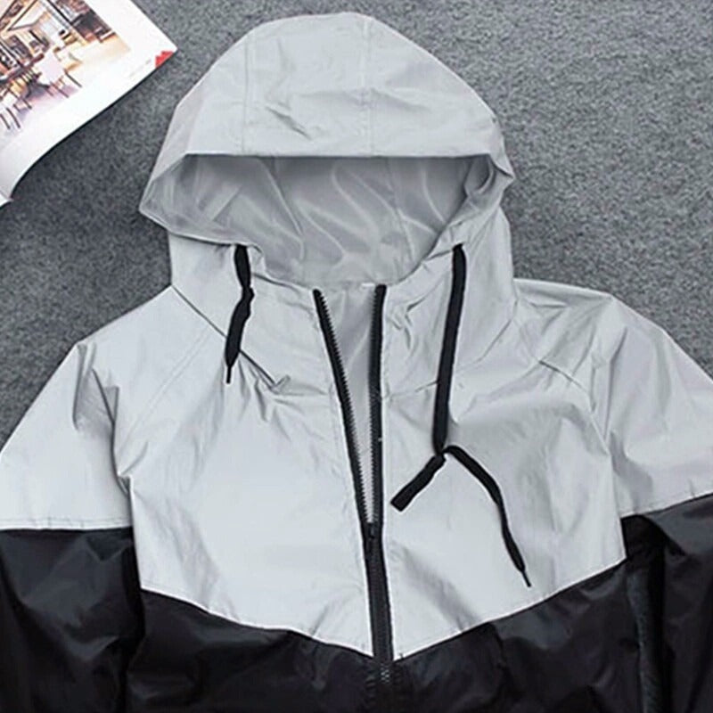 Jacket - 3M Reflective Windbreaker