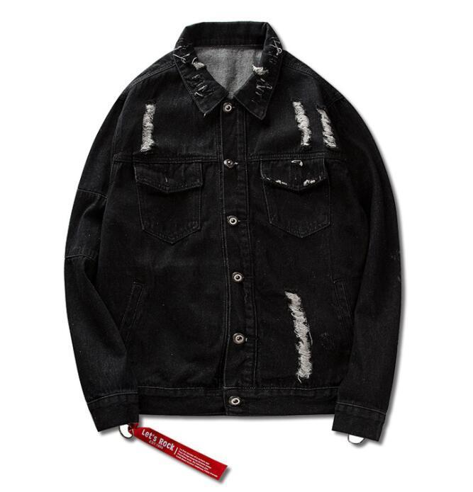 Jacket - Sahara Denim Jacket - Black