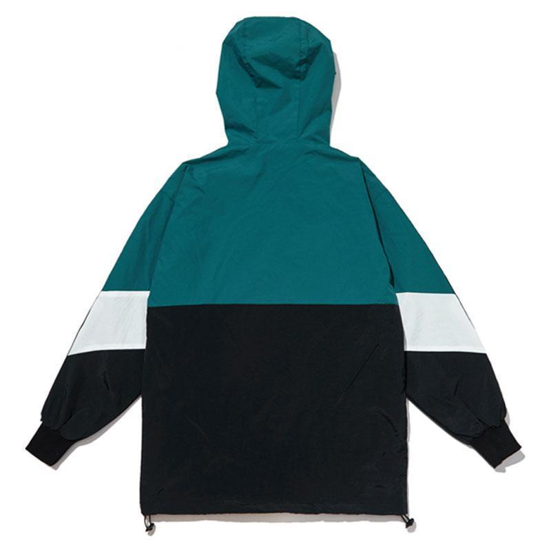 Fuxk Pullover Jacket - Teal - Modern Appeal
