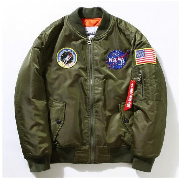 NASA Bombers (Black, Sage Green, Navy) - Modern Appeal