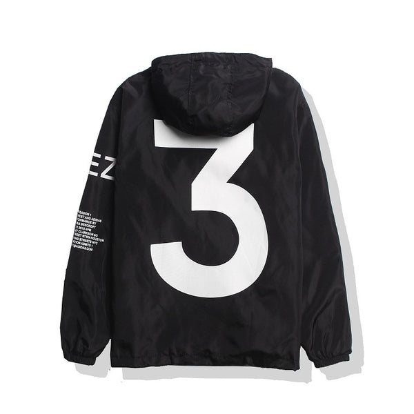 Yeezus Windbreaker - Black - Modern Appeal