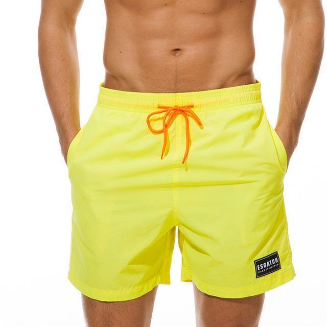 Surfing & Beach Shorts - Solid Tone Board Shorts