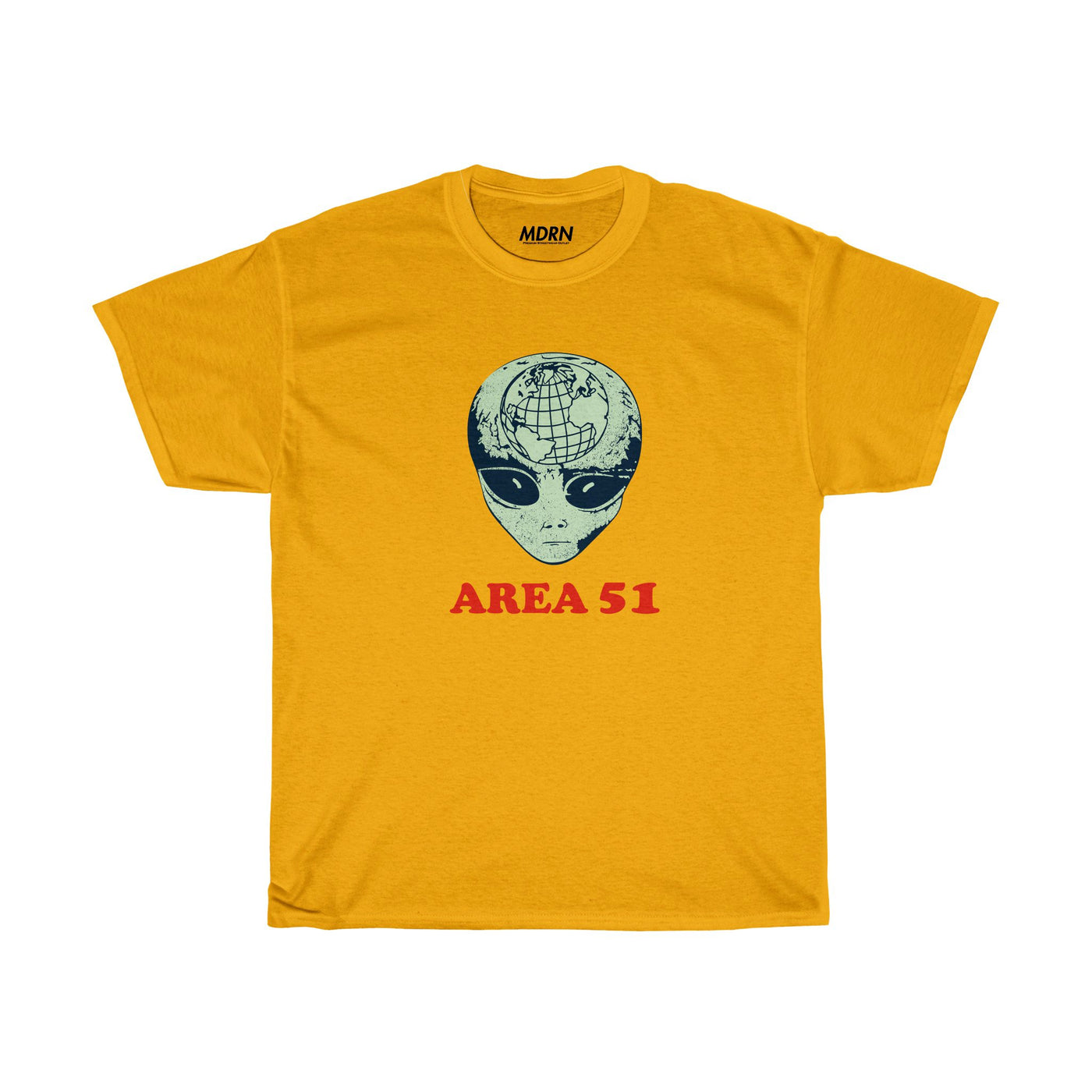 Area 51 Tee - Gold - Modern Appeal