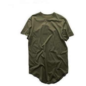 T Shirt - Extended Tee - Olive