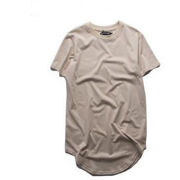 T Shirt - Extended Tee - Tan