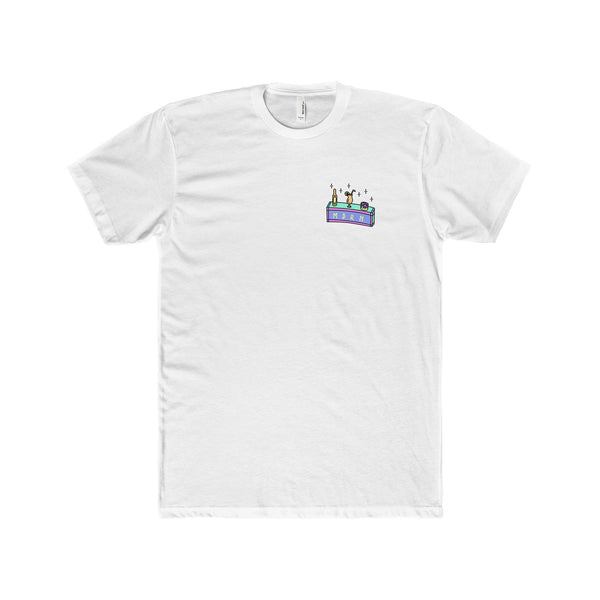 T-Shirt - Modern Cocktail Tee - White
