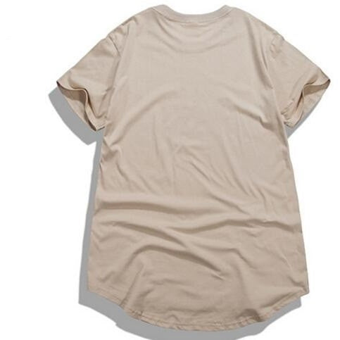 Ripped Extended Tee - Beige - Modern Appeal