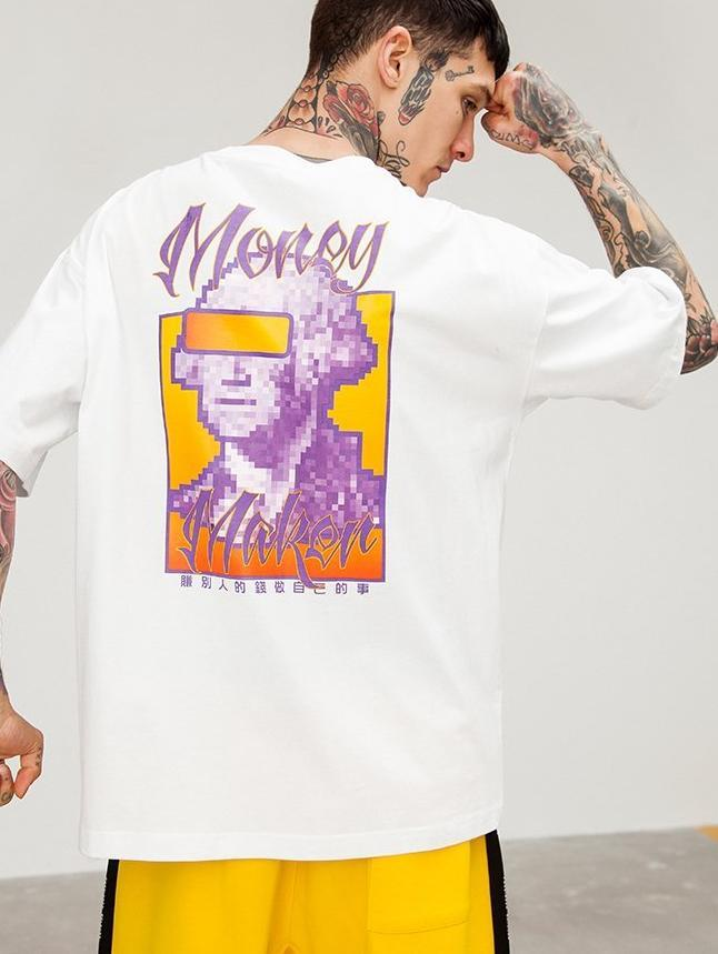 Money Makers Tee - White - Modern Appeal