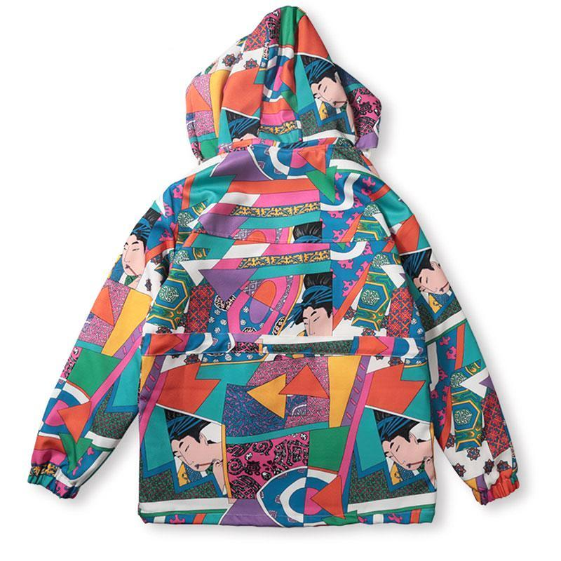 Katana Colorblock Jacket - Modern Appeal