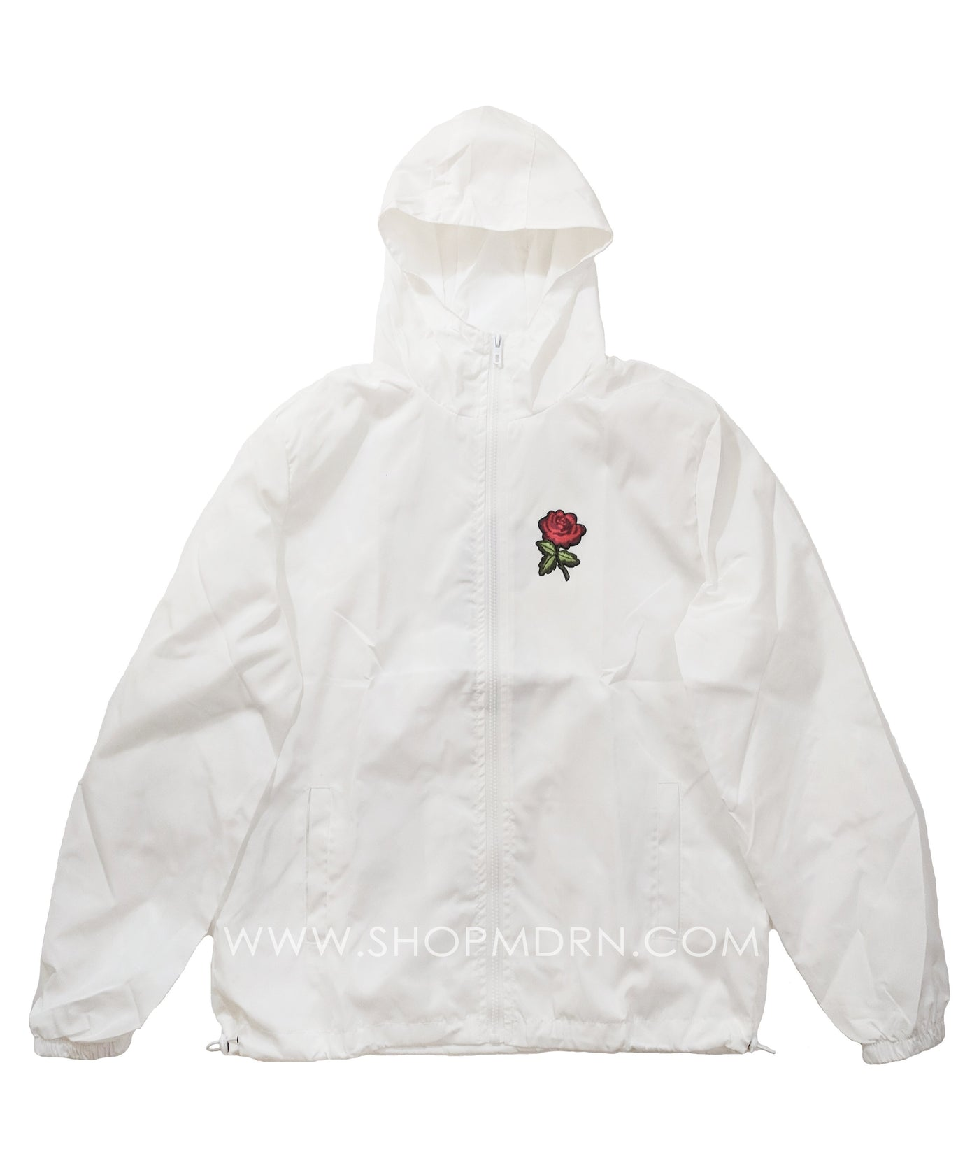Windbreaker - Rose Windbreaker - White