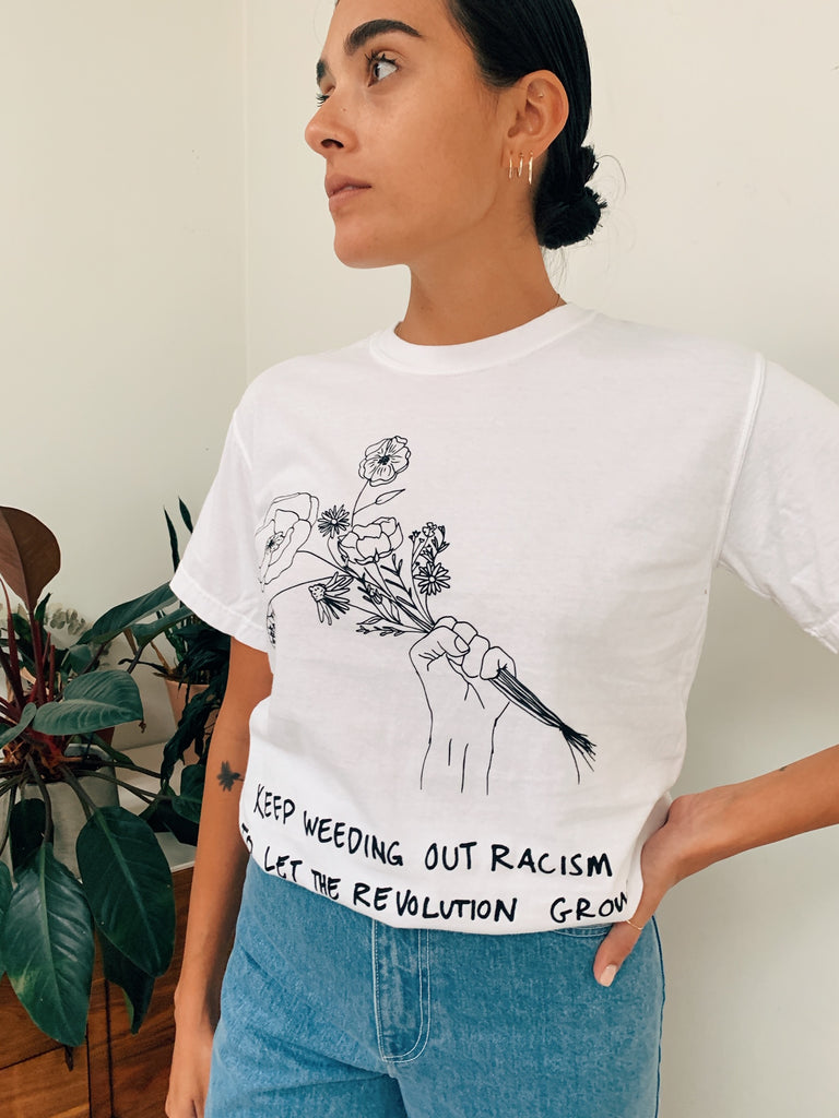 Misterwives Weed Out Racism T-Shirt