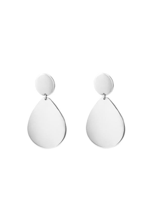 Teardrop Earrings- Sterling Silver