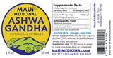 "Ashwagandha 1 oz. Extract  ""Maui USA"""