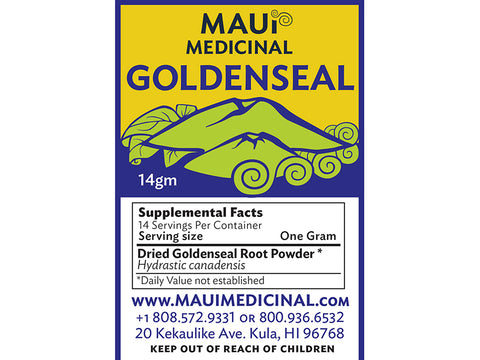 Goldenseal Root 14gm Powder