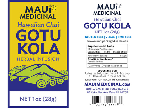 Gotu Kola Tea - Hawaiian Chai