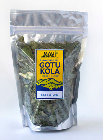Gotu kola Tea - Hawaiian Chai - 1oz *Maui USA Organic*