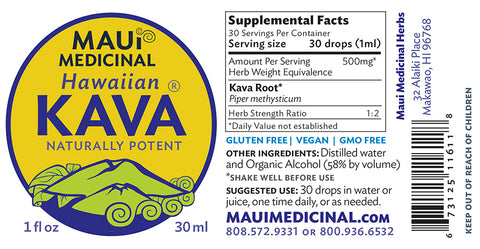 Hawaiian KAVA 1 oz Extract