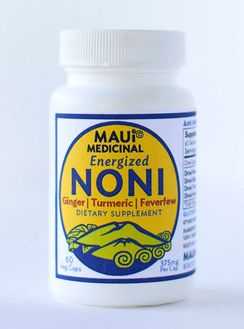 Noni Plus = Energized Noni Quality Blend 60 - 375 mg Vcaps