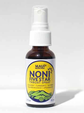 Noni Five Star Throat Spray - Herbal Combination