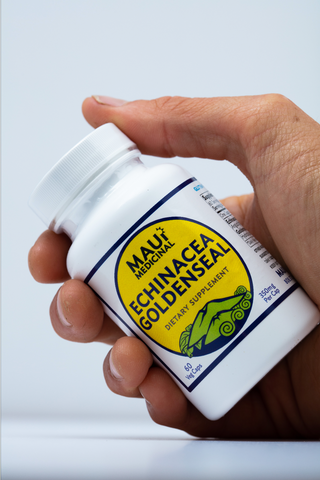 Echinacea + Goldenseal 60 - 350 mg Vcaps