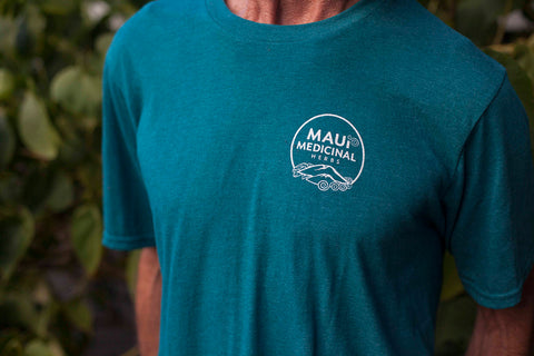 MENS SUPER SOFT MAUI MEDICINAL TEE SHIRT