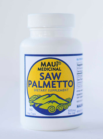 Saw Palmetto 90 Vcaps - 500 mg per capsule