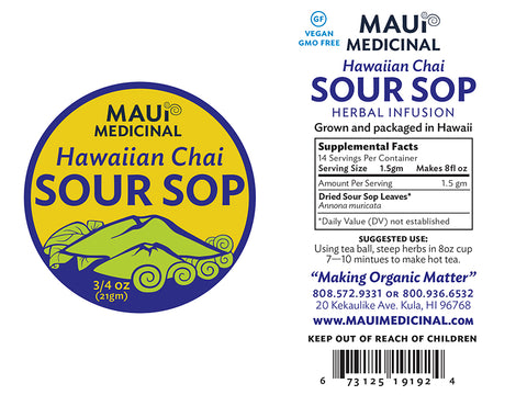 Sour Sop Tea - Hawaiian Chai