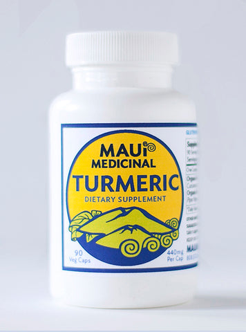 TURMERIC + Black Pepper 90 Vcaps - 440mg per capsule