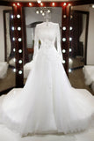 A-Line Wedding Dress-BELLE