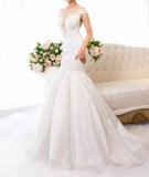 Mermaid Wedding Dress-CECILY