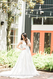 A-Line Wedding Dress-SATIN