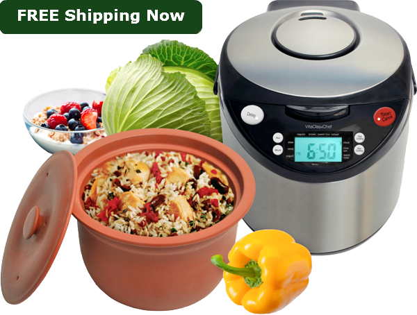 9.1 Organic Multicooker 6 Cup