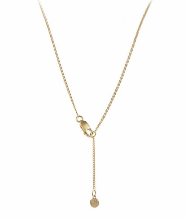 Mini Pearl Drop Necklace Gold