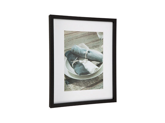 Otto Photo Frame Rectangle Black Large 40 x 50cm