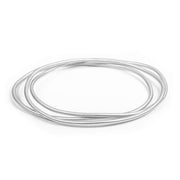 Alexa Multi Bangle Set Silver
