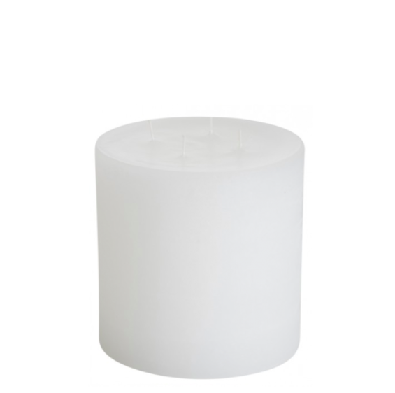 Italian Wax 4 Wick Candle White