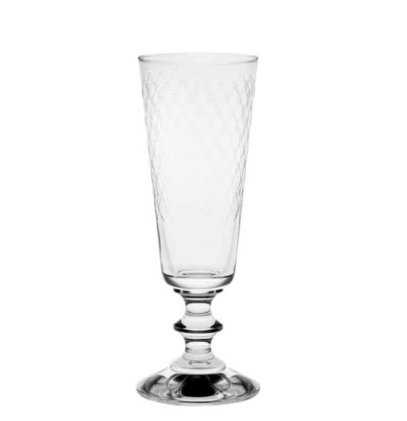 Fishnet France Champagne Glass - Set of 4