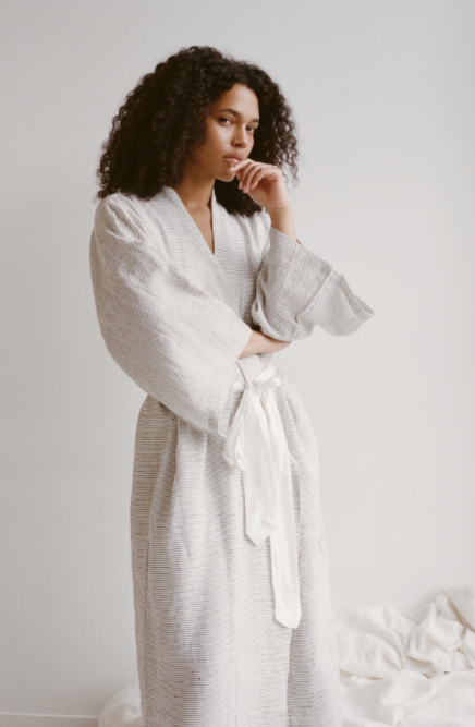 The 02 Robe - Pinstripe