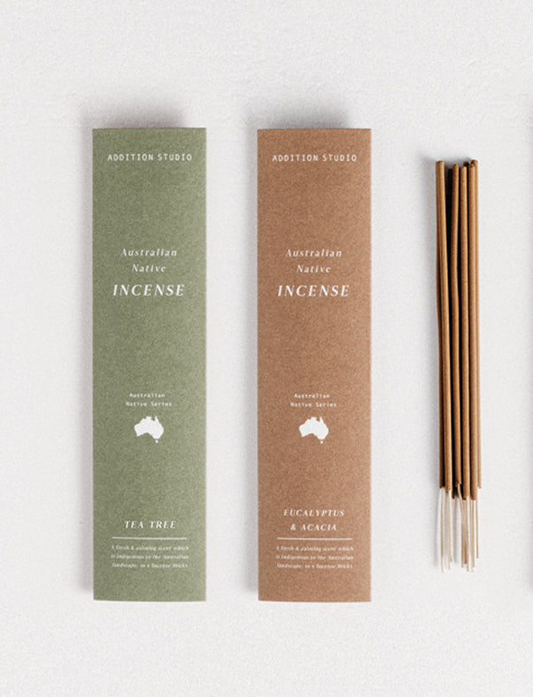 Australian Native Incense Small Eucalyptus & Acacia