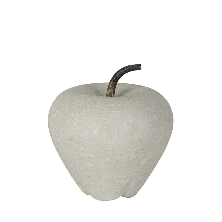 Marble Apple - White