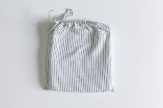 Linen Pinstripe Duvet Set King